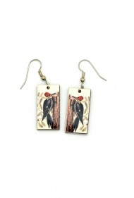 Red Head Woodpecker Dangles