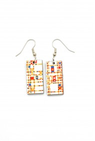 Mondrian Earrings