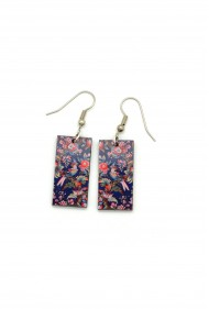 Parrot Wallpaper Earrings