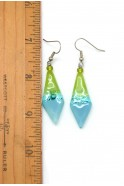 Glass Arrow Earrings