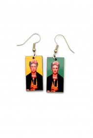 Frida Kahlo Earrings * Yellow