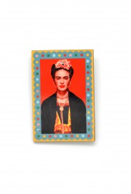 Rectangle Frida Kahlo Pin
