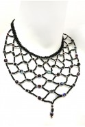 Web Bib Necklace