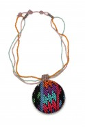 Huipil Pendant Necklace