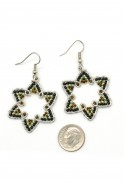 Six Point Earrings