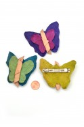 Butterfly Barrettes (Set of 3)