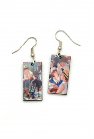 Renoir Boating Party Earrings