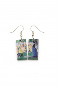 Seurat Earrings