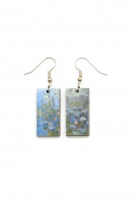 Monet Water Lily Earrings