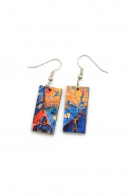 Circus Horse Chagall Earrings