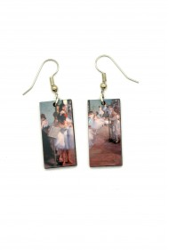 Degas Dance Class Earrings