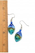 Glass Almond Earrings