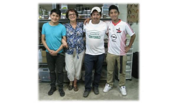 Chema, Rosita, Nelson, Luis